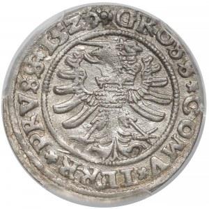 Zygmunt I Stary, Grosz Toruń 1529 - 15Z9/9 - PCGS MS62