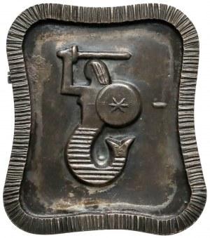Odznaka, Syrenka warszawska, Srebro, wykonanie ORNO