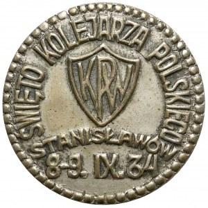 Święto Kolejarza Polskiego, Stanisławów 8-9.IX.34