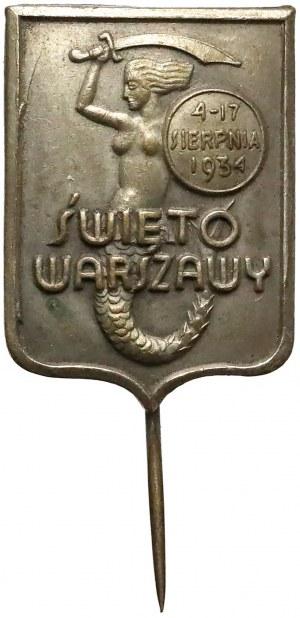 Święto Warszawy 4-17 sierpnia 1934