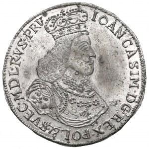 MAJNERT, jednostronna, cynowa odbitka Talara elbląskiego 1651 Jana Kazimierza