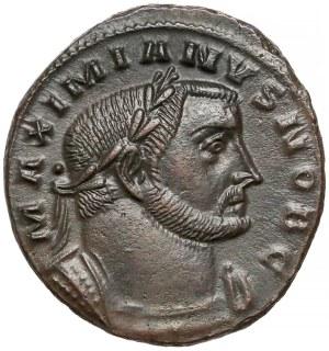 Galeriusz, Follis Lugdunum (301-303) - Geniusz