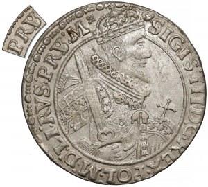 Zygmunt III Waza, Ort Bydgoszcz 1621 - PRS/V - rzadki