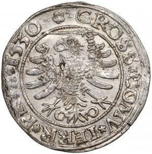 Zygmunt I Stary, Grosz Toruń 1530 - miecz w lewo - PRV