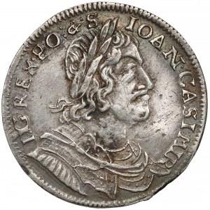 Jan II Kazimierz, Ort Wschowa 1652/1 MW - przebitka