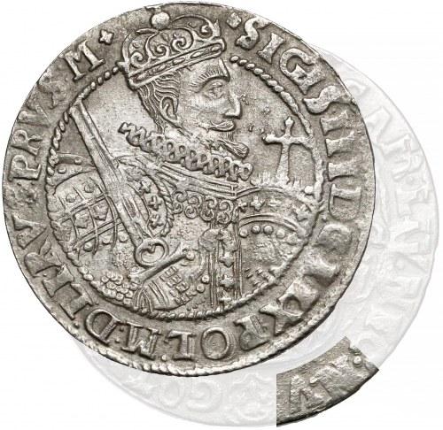 Zygmunt III Waza, Ort Bydgoszcz 1622 - błąd N:V - bardzo rzadki