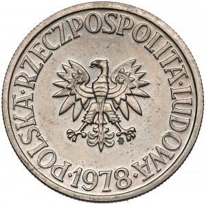 Próba MIEDZIONIKIEL 5 złotych 1978 - RZADKOŚĆ