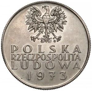Próba MIEDZIONIKIEL 10 złotych 1973, 200 lat KEN - PRÓBA w górę - rzadkość