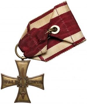 Krzyż Walecznych 1920, Knedler 36mm, bez numeru