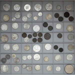 Austria, mała kolekcja ciekawszych monet (65szt)