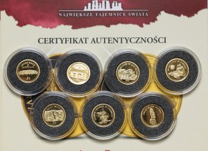 Złote monety 5.12g Fine Au,
