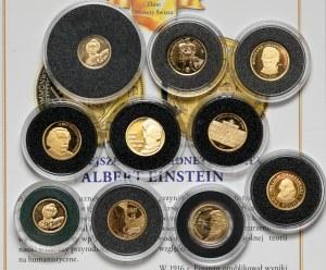 Złote monety 11.24g Fine Au,