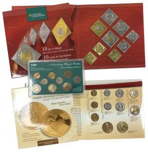 III RP monety obiegowe (w tym rzadkie) i ich klipy