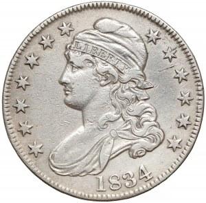 USA, 50 centów 1834