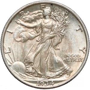 USA, 1/2 dolara 1934