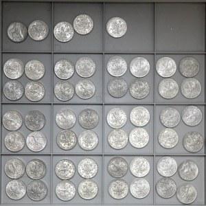 PRL zestaw 5 złotych 1959-1974 Rybak (53)