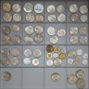 PRL zestaw selekcjonowanych MENNICZYCH monet, rzadszych ale LAKIEROWANYCH (47)