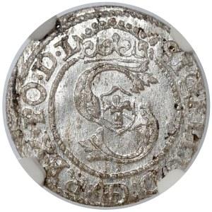 Zygmunt III Waza, Szeląg Ryga 1590 - NGC MS62