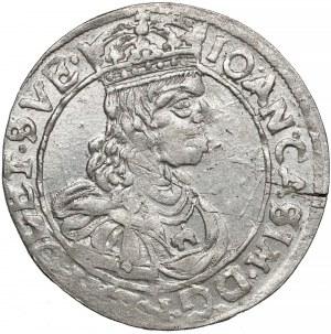 Jan II Kazimierz, Szóstak Lwów 1662 AcpT - piękny