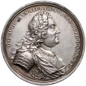 August III Sas, Medal koronacyjny 1734