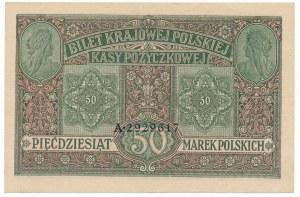 50 marek 1916 Jenerał - pięknie zachowany