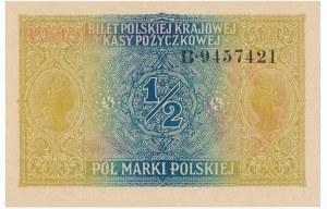 1/2 marki 1916 Generał - perfekcyjna sztuka
