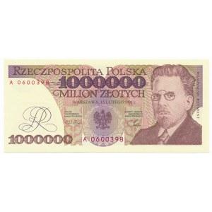 1 milion złotych 1991 -A-