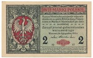 2 marki 1916 Jenerał -A-