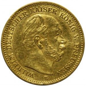 Niemcy - Prusy Wilhelm I - 5 marek 1877 B