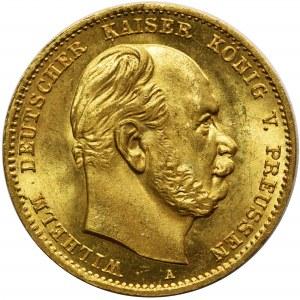 Niemcy - Prusy Wilhelm I - 10 marek 1872 A