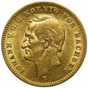 Niemcy - Saksonia Johann - 20 marek 1872 E