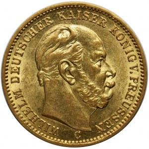Niemcy - Prusy Wilhelm I - 20 marek 1873 C