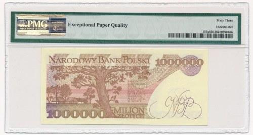 1 milion złotych 1991 -A- PMG 63 EPQ