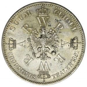 Niemcy - Prusy, Talar Koronacyjny 1861