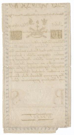10 złotych 1794 -A- herbowy znak wodny