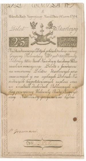 25 złotych 1794 -A-