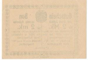 Rybnik - 2 marki 1921 bez numeratora - rzadki