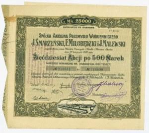J.Smarzyński, F.Miłobędzki i J.Malewski - VI Emisja - 50 x 500 marek