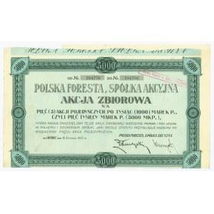 POLSKA FORESTA - 5 x 1.000 marek - rzadki nominał