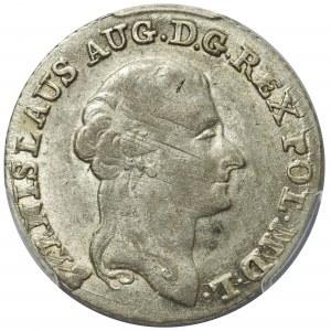 Poniatowski, Złotówka 1792 M.V. - PCGS AU53