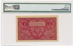 1 marka 1919 - I Serja K - PMG 64