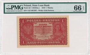 1 marka 1919 - I Serja AZ - PMG 66 EPQ