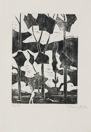 Stefan SZMAJ (1893-1970), Topole II, 1957