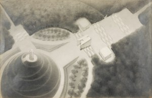 Marian KONARSKI (1909-1998), Sowiniec - widok z góry, 1936