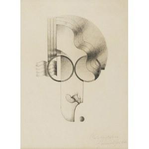 Józef Jan GOSŁAWSKI (1908-1963), Autokarykatura, 1933