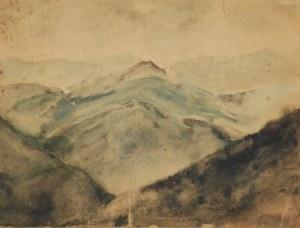 Malarz nieokreślony, Pejzaż górski