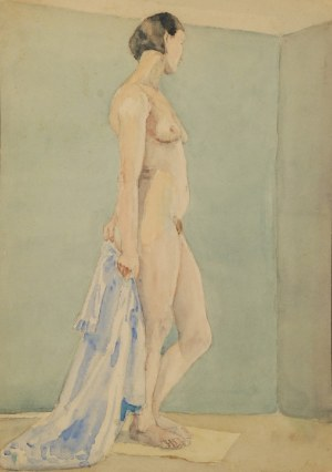 Marian WASILEWSKI? (1908-1971), Akt, 1934