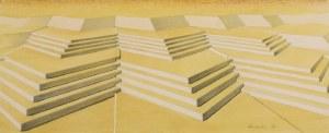 Marian KONARSKI (1909-1998), Projekt schodów II, 1937
