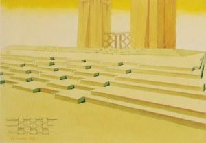Marian KONARSKI (1909-1998), Projekt schodów VII, 1937