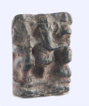 Płaskorzeźba bożka hinduskiego Ganeśa